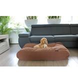 Dog's Companion® Hondenbed Mokka (chenille velours) Small