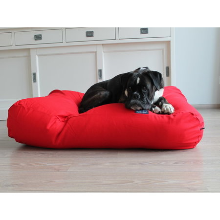 Dog's Companion® Hoes hondenbed rood large