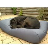 Dog's Companion® Hoes hondenbed staalgrijs vuilafstotende coating extra small