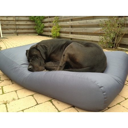 Dog's Companion® Hoes hondenbed staalgrijs vuilafstotende coating small