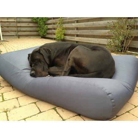 Dog's Companion® Hoes hondenbed staalgrijs vuilafstotende coating large