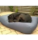 Dog's Companion® Hoes hondenbed staalgrijs vuilafstotende coating superlarge