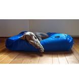 Dog's Companion® Hoes hondenbed kobalt blauw vuilafstotende coating extra small