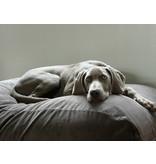 Dog's Companion® Hoes hondenbed muisgrijs ribcord medium