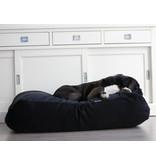 Dog's Companion® Hoes hondenbed zwart ribcord extra small