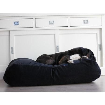 Dog's Companion® Hoes hondenbed zwart ribcord small