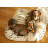 Dog's Companion® Hoes hondenbed country field streep large