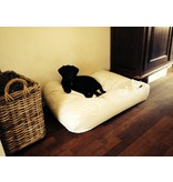 Dog's Companion® Hoes hondenbed ivory leather look large