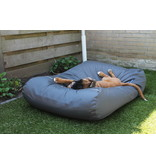 Dog's Companion® Hoes hondenbed charcoal vuilafstotende coating extra small