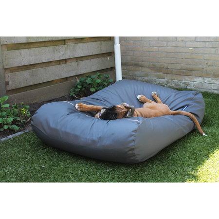 Dog's Companion® Hoes hondenbed charcoal vuilafstotende coating superlarge