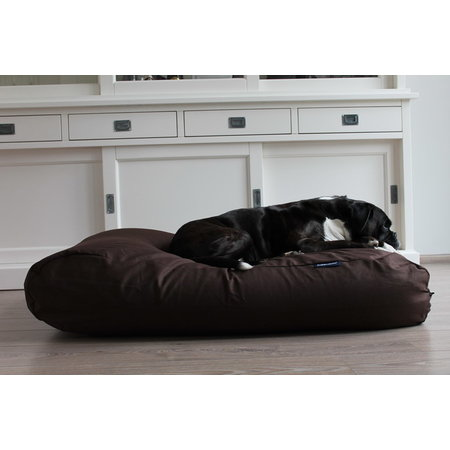 Dog's Companion® Hoes hondenbed chocolade bruin katoen extra small