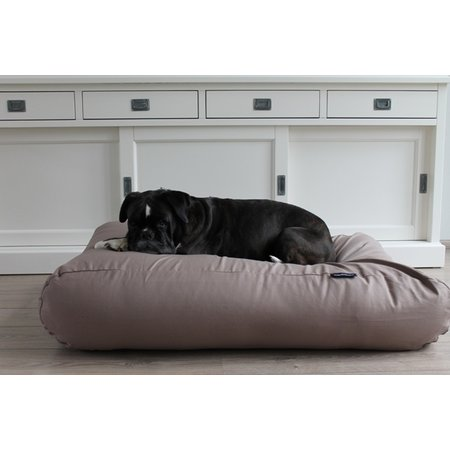Dog's Companion® Hoes hondenbed taupe katoen