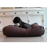 Dog's Companion® Hoes hondenbed chocolade bruin (meubelstof) Extra Small