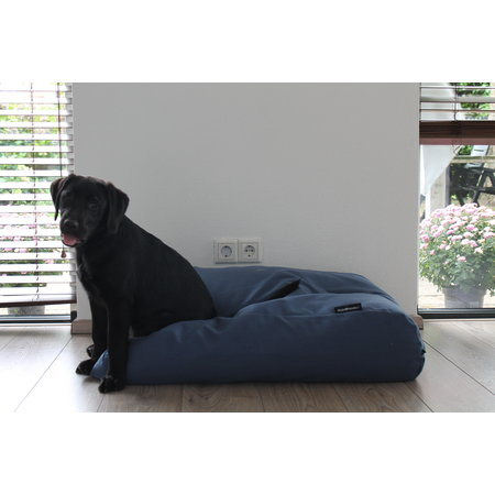 Dog's Companion® Hoes hondenbed rafblauw meubelstof Extra Small