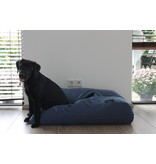 Dog's Companion® Hoes hondenbed rafblauw meubelstof Small