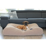 Dog's Companion® Hoes hondenbed Caramel (chenille velours) Small