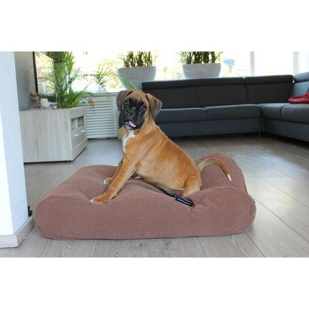 Dog's Companion® Hoes hondenbed Mokka (chenille velours) Small