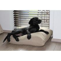 Hondenkussen 60 x 58 x 7 cm Beige