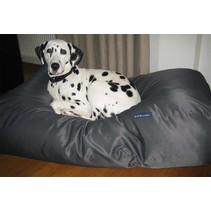 Hondenbed charcoal vuilafstotende coating superlarge