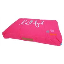Lief! ligkussen lounge lief girls roze