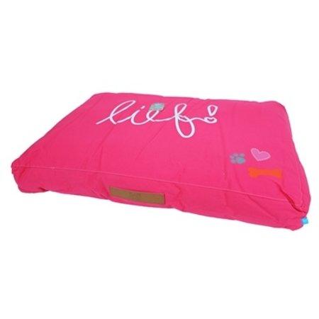 Lief! Lief! ligkussen lounge lief girls roze