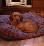 Dog's Companion® Hondenbed scottish grey medium