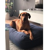 Dog's Companion® Hondenbed blauw ribcord small