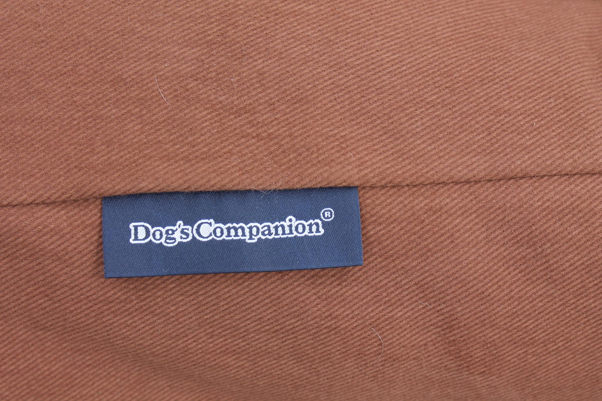 Dog's Companion® Hoes hondenbed Mokka Superlarge