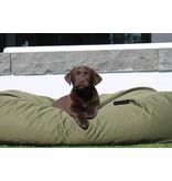Dog's Companion® Hoes hondenbed olijf groen vuilafstotende coating