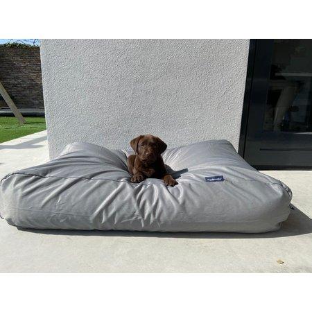 Dog's Companion® Hondenbed lichtgrijs vuilafstotende coating Medium