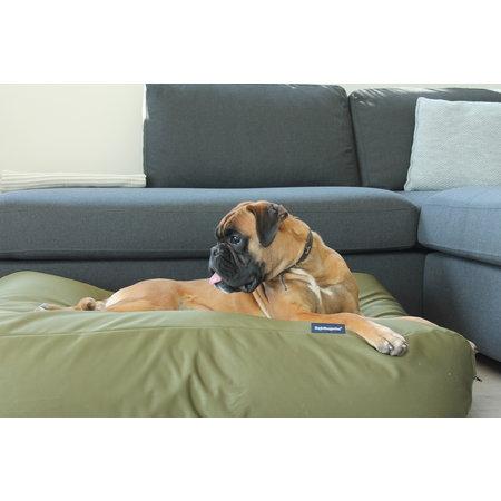 Dog's Companion® Hondenbed olijf groen vuilafstotende coating Medium