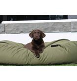 Dog's Companion® Hoes hondenbed olijf groen vuilafstotende coating Large