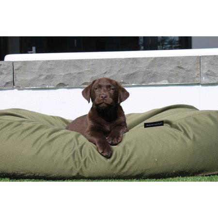 Dog's Companion® Hondenbed olijf groen vuilafstotende coating Superlarge