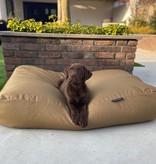 Dog's Companion® Hondenkussen khaki vuilafstotende coating medium