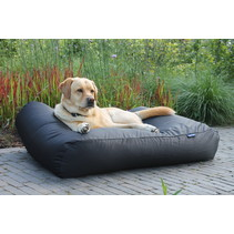 Hondenbed zwart vuilafstotende coating superlarge