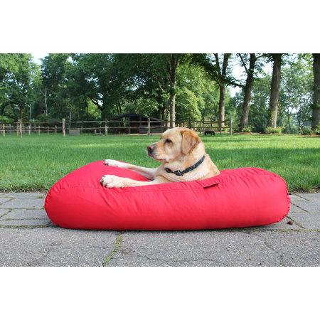 Dog's Companion® Hondenbed rood vuilafstotende coating superlarge