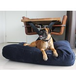 Dog's Companion® Hoes hondenbed Donkerblauw ribcord