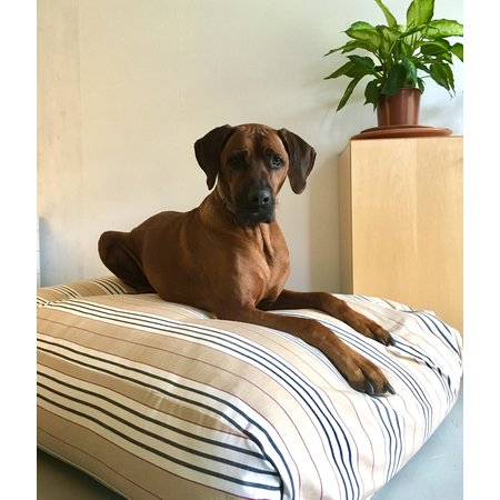 Dog's Companion® Hondenbed country field streep extra small