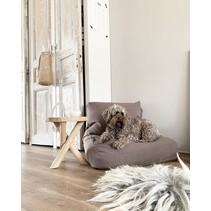 Hondenbed walnut linnen extra small
