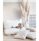 Dog's Companion® Hondenbed ivory leather look large