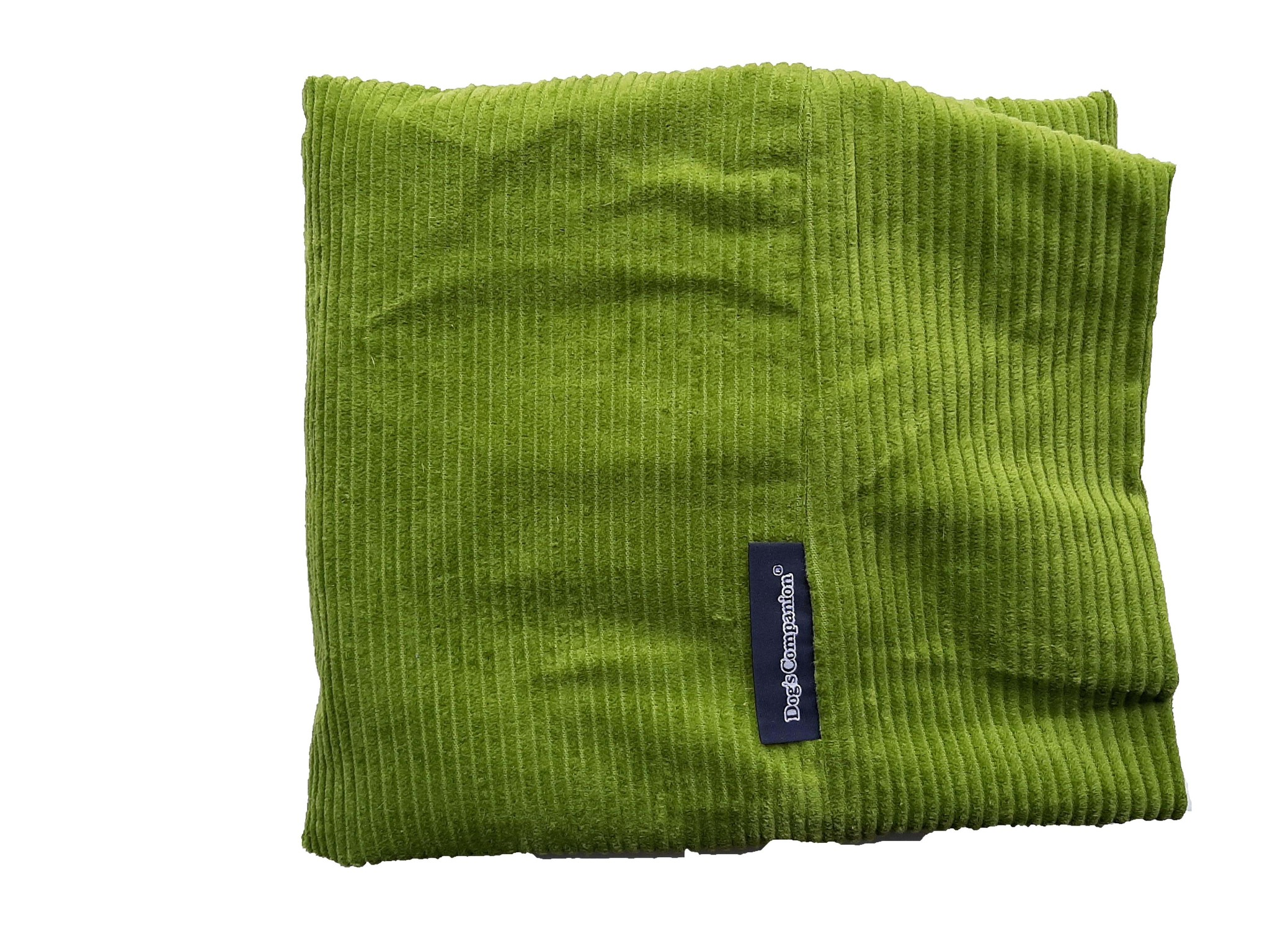 Dog's Companion® Hoes hondenbed Appelgroen ribcord large