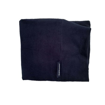 Dog's Companion® Hoes hondenbed Donkerblauw ribcord large