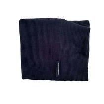 Hoes hondenbed Donkerblauw ribcord superlarge