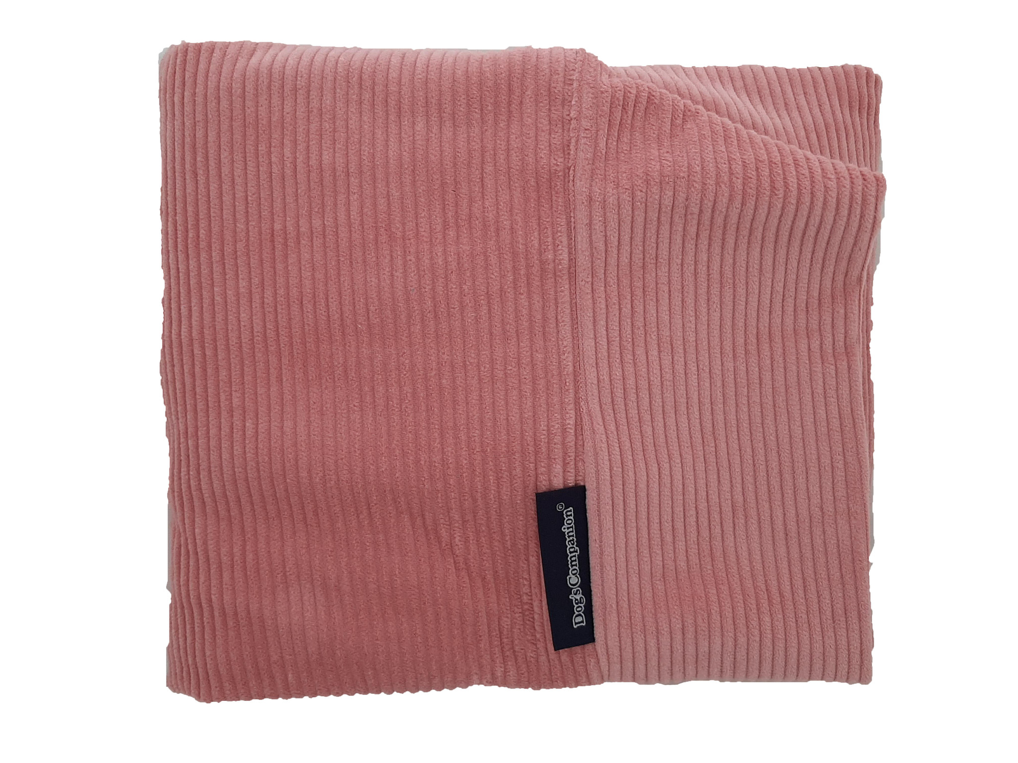 Dog's Companion® Hoes hondenbed Oud Roze ribcord small