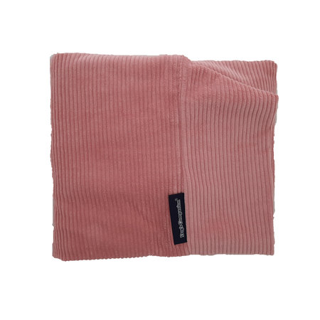 Dog's Companion® Hoes hondenbed Oud Roze ribcord large
