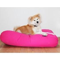 Hondenkussen roze medium