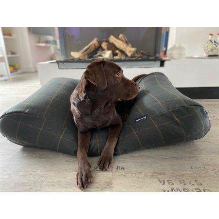 Dog's Companion® Hondenbed Scottish Tweed Green
