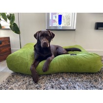 Hondenbed Appelgroen Ribcord small