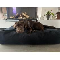 Hondenbed Dark Steel Bouclé