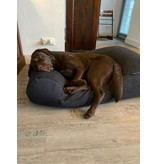 Dog's Companion® Pre-order! Hoes hondenbed Dark Steel Bouclé